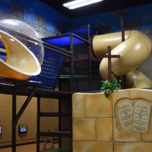 Go Play Systems Custom Design: Calvary Hill, Tomb of Jesus, Wailing Wall, Ten Commandments theming