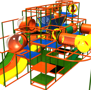 Go Play Systems Custom Design: Great Indoor Playground