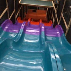 Multi Color Wave Slide Components