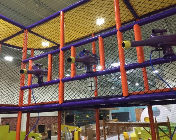 Go Play Systems Custom Design: foam balls, foam ball shooters, indoor playgrounds