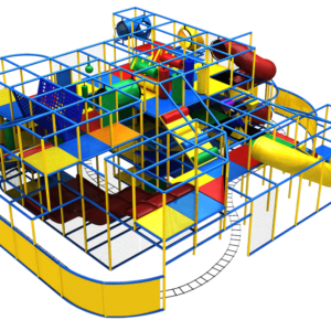 Go Play Systems Custom Design: Amusement Ride Attractions in Large Indoor Playground