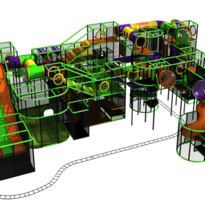 Go Play Systems Custom Design: Amusement Indoor Playground
