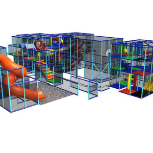 Go Play Systems Custom Design: Many indoor playground attractions for one price