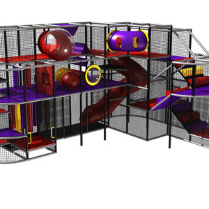 Wonderful Indoor Playground For Youth Ministry