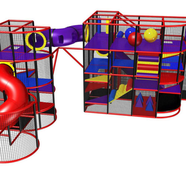 Go Play Systems Custom Design: Exciting Indoor Playground