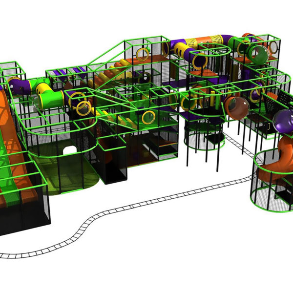 Go Play Systems Custom Design: Slides Kiddie Rides Multiple Amusement Activities