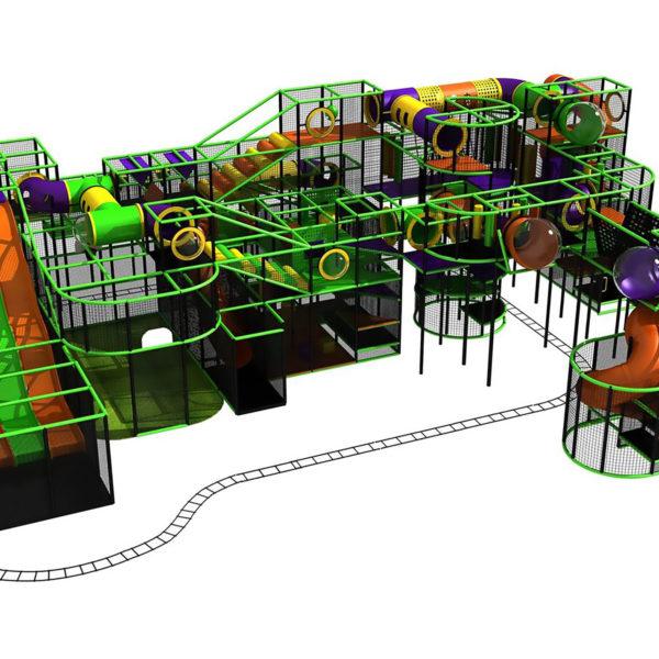 Go Play Systems Custom Design: Slides Kiddie Rides Multiple Amusement Activities