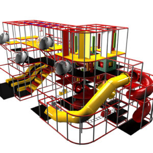 Wonderful Indoor Playground with Theming