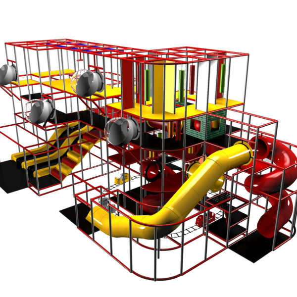 Go Play Systems Custom Design: Wonderful Indoor Playground with Theming
