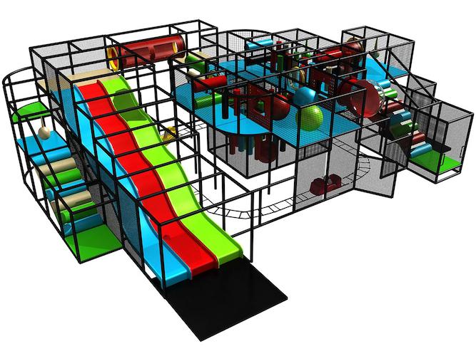 Indoor Playground System Style Photo