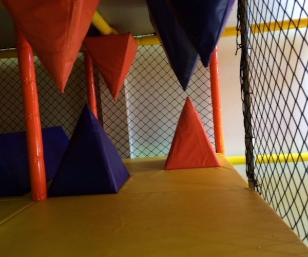 stalagtite and stalagmite obstacles for indoor playground
