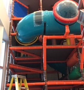crawl tubes and bubble windows indoor playground